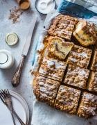 Mein Rezept für Möhrenkuchen mit Mascarpone-Vanille-Creme