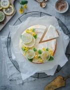 Mein Rezept für ein Zitronen-Dutch Baby Pancake mit Lemon Curd, Blaubeeren und Vanilleeis