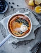 Mein Rezept für Zimtstreusel Brombeer Muffins mit griechischem Joghurt und Ahornsirup
