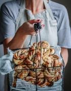 Hallo Herbst! Kürbis-Kartoffel-Flatbread mit Ziegenfrischkäse