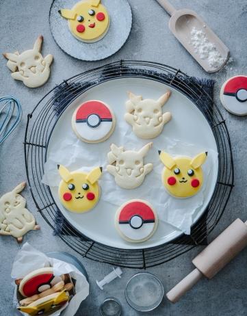 Mein Rezept für Lieblings-Zucker-Cookies in der Pokémonvariante & Nintendo Switch Lite GIVE AWAY
